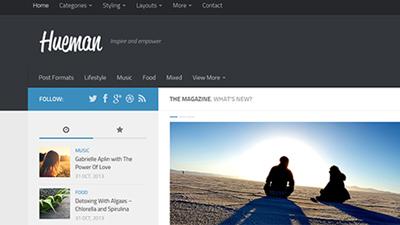 Как в WordPress шаблоне Hueman применить Child Menu