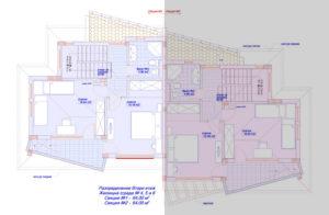 Дом в Равде, секция 1, этаж 2